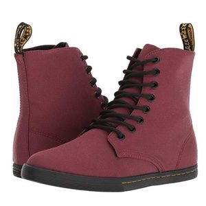 Dr. Martens Alfie Canvas in Oxblood Red Size 12